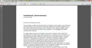 hongaarse vertaling